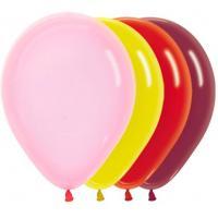 Латексные воздушные шары Кристалл и Граффити