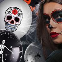 Праздничные товары для украшения Хеллоуина