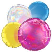 Круглые фольгированные шары