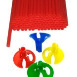 Зажимы и трубочки для воздушных шаров оптом