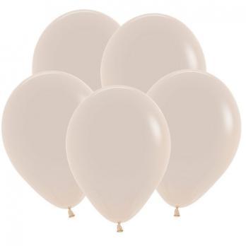 Воздушные шары Белый песок Пастель 100 шт