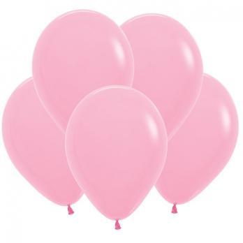 Воздушные шары Розовый Пастель 100 шт