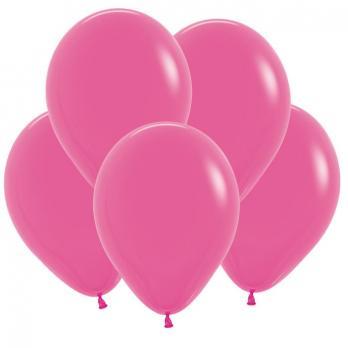 Воздушные шары Фуксия Пастель 100 шт