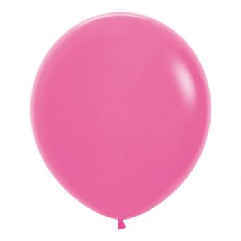Воздушные шары Фуксия Пастель 1 шт