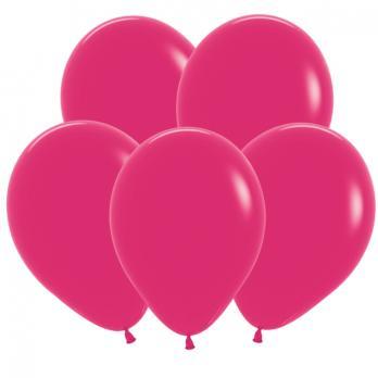 Воздушные шары Малиновый Пастель 100 шт