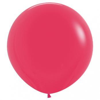 Воздушные шары Малиновый Пастель10шт 60 см