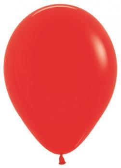 Воздушные шары Красный Пастель 100 шт