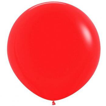 Воздушные шары Красный Пастель 1метр 1шт