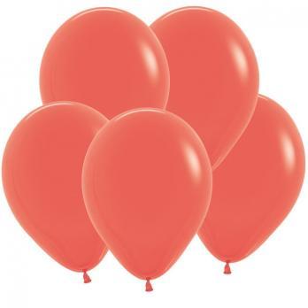 Воздушные шары Коралл Пастель 100 шт