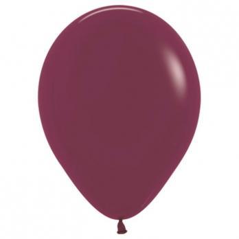 Воздушные шары Бургундия Пастель 100 шт