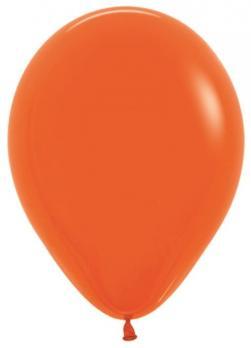 Воздушные шары Оранжевый Пастель 100 шт