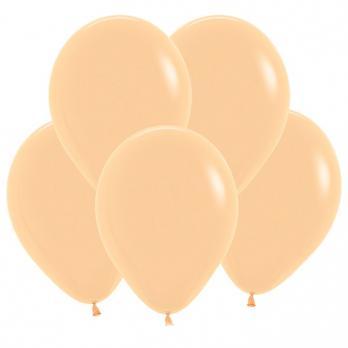 Воздушные шары Персик Пастель 100 шт