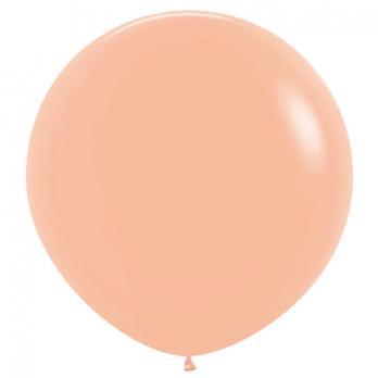 Воздушные шары Персик Пастель 1 шт