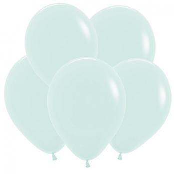 Купить воздушные шары Мятный, Пастель Матовый Макаронс