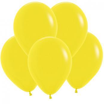 Воздушные шары Желтый Пастель 100 шт