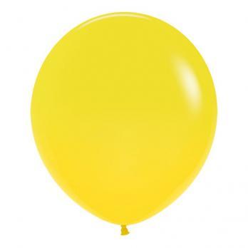 Воздушные шары Желтый Пастель 1 шт