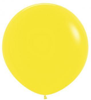 Воздушные шары Желтый Пастель 1метр 1шт