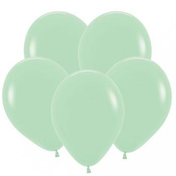 Воздушные шары Мятный Пастель 100 шт