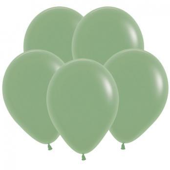 Воздушные шары Эвкалипт Пастель 100 шт