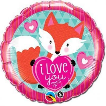 Фольгированный воздушный шар Вечеринка зверей