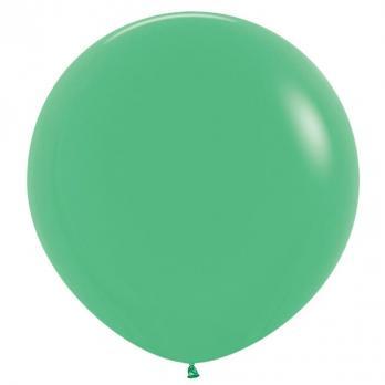 Воздушные шары Зеленый Пастель 1метр 10шт