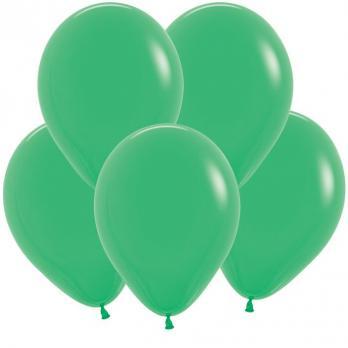 Воздушные шары Изумрудный Пастель 100 шт