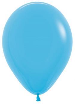 Воздушные шары Голубой, Пастель 100 шт