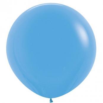 Воздушные шары Голубой Пастель 1метр 10шт