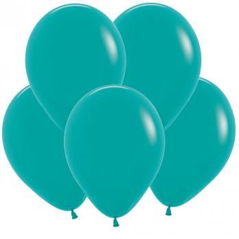 Воздушные шары Бирюзовый Пастель 100 шт