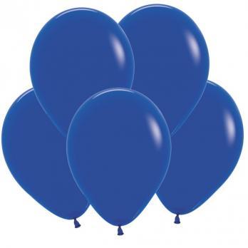 Воздушные шары Синий Пастель 100 шт