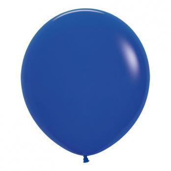 Воздушные шары Синий Пастель 1 шт
