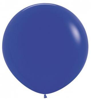 Воздушные шары Синий Пастель 1метр 1шт