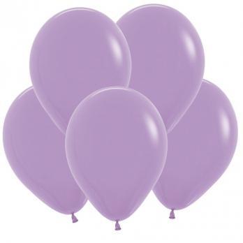 Воздушные шары Сиреневый Пастель 100 шт