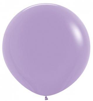 Воздушные шары Сиреневый Пастель 1метр 10шт
