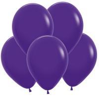 Воздушные шары Фиолетовый Пастель 100 шт