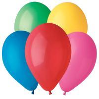 Воздушные шары Ассорти Пастель 100шт