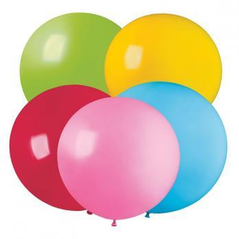 Воздушные шары Ассорти Пастель 76см 10шт