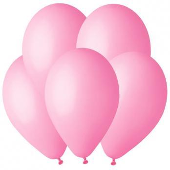 Воздушные шары Розовый 06 Пастель 100шт