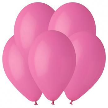 Воздушные шары Фуксия 07 Пастель 100шт