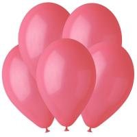 Воздушные шары Красный 05 Пастель 100шт