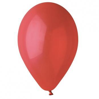Воздушные шары Красный 45 Пастель 100шт