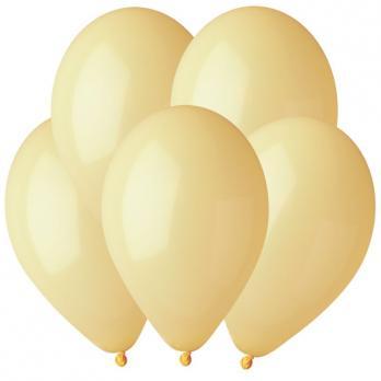 Воздушные шары Светло-желтый 43 Пастель 100шт