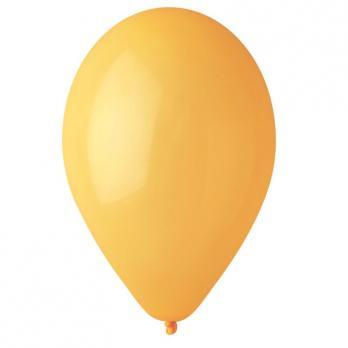 Воздушные шары Желтый 03, Пастель 100шт