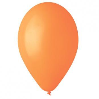 Воздушные шары Оранжевый 04 Пастель 100шт