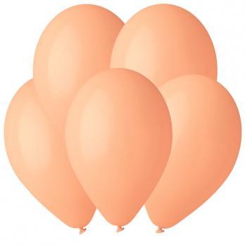 Воздушные шары Персик 60 Пастель 100шт