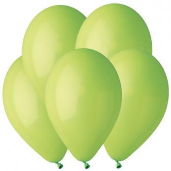 Воздушные шары Светло-зеленый 11 Пастель 100шт