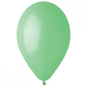Воздушные шары Мятный 77 Пастель100шт