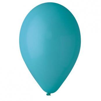 Воздушные шары Бирюзовый 68 Пастель100шт