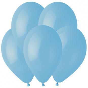 Воздушные шары Нежно-голубой 72 Пастель 100шт