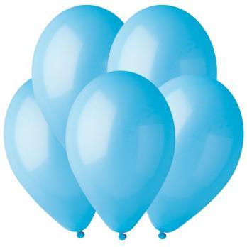 Воздушные шары Голубой 09 Пастель 100шт